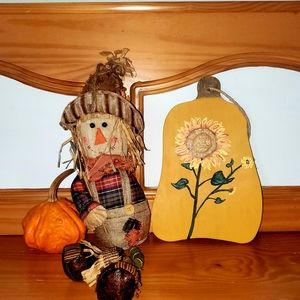 Handpainted Gourd Wall Hanging